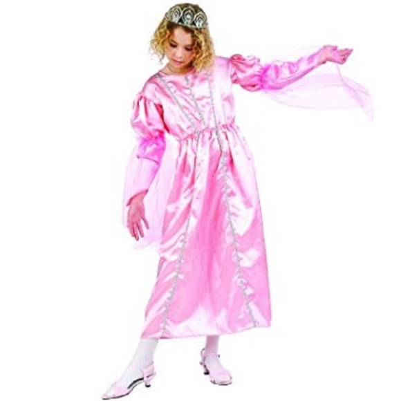 Boutique Other - Girls Pink Queen Costume Dress Gown